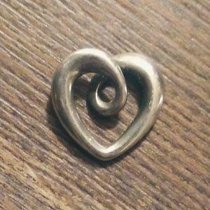 James Avery Heart Strings Pendant